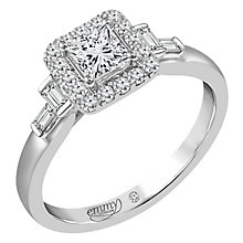 Emmy London Palladium 3/4 Carat Diamond Ring - Product number 6258352