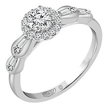 Emmy London 9ct White Gold  1/2ct Diamond Ring - Product number 6258670
