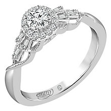 Emmy London 18 Carat White Gold 1/3 Carat Diamond Set Ring - Product number 6258816
