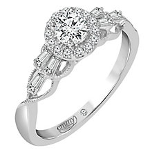 Emmy London 18 Carat White Gold 1/2 Carat Diamond Set Ring - Product number 6258948