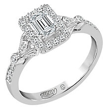 Emmy London 18 Carat White Gold 2/3 Carat Diamond Ring - Product number 6260195