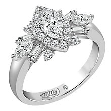 Emmy London Platinum 1 Carat Diamond Ring - Product number 6262597