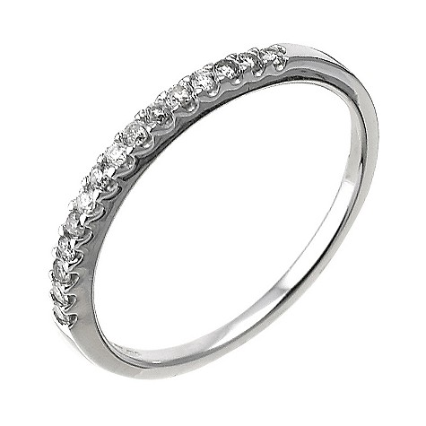 9ct white gold ladies