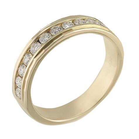 18ct gold half carat diamond ring