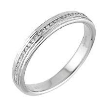 18ct white gold ladies' diamond wedding ring - Product number 6271111