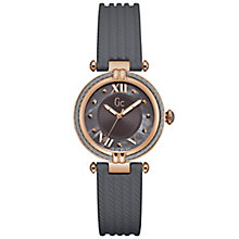 GC CableChic Ladies' Rose Gold Plated Strap Watch - Product number 6276512