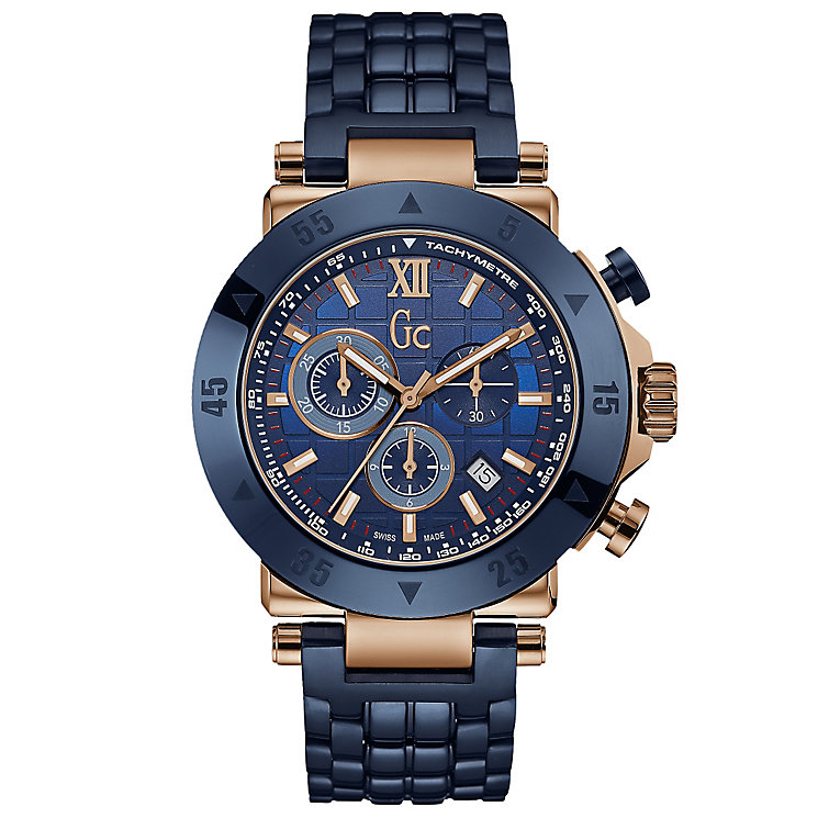 GC Men's Rose Gold Plated Bracelet Watch - Product number 6276563