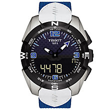 Tissot T-Touch 6 Nations Men's Titanium Strap Watch - Product number 6278167