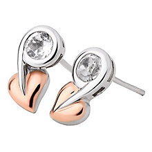 Clogau Tree of Life White Topaz Stud Earrings - Product number 6289886