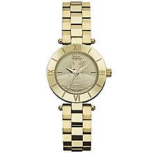 Vivienne Westwood Ladies' Gold Plated Bracelet Watch - Product number 6290795