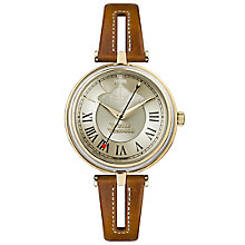 Vivienne Westwood Ladies' Gold Plated Strap Watch - Product number 6290833