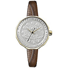 Vivienne Westwood Ladies' Gold Plated Strap Watch - Product number 6290884