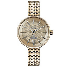 Vivienne Westwood Ladies' Rose Gold Plated Bracelet Watch - Product number 6290892