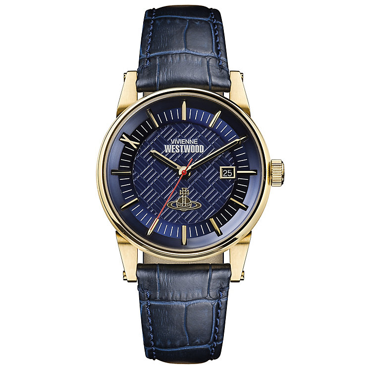 Vivienne Westwood Men's Gold Plated Strap Watch - Product number 6290906