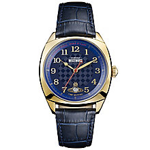 Vivienne Westwood Men's Gold Plated Strap Watch - Product number 6290922