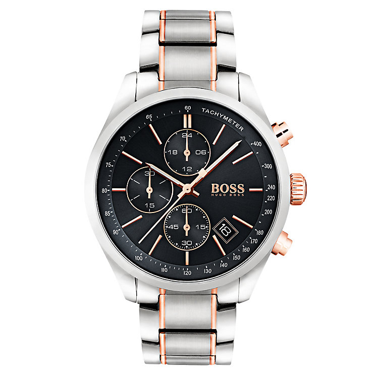Hugo Boss Men's Two Colour Bracelet Watch - Product number 6297226