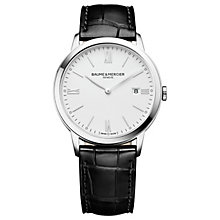 Baume & Mercier MyClassima Men's Stainless Steel Strap Watch - Product number 6319025