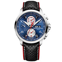 Baume & Mercier Clifton Club Shelby Cobra Men's Strap Watch - Product number 6319165
