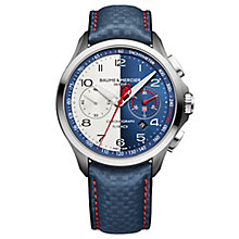 Baume & Mercier Clifton Club Shelby Cobra Men's Strap Watch - Product number 6319173