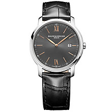 Baume & Mercier MyClassima Men's Stainless Steel Strap Watch - Product number 6319211