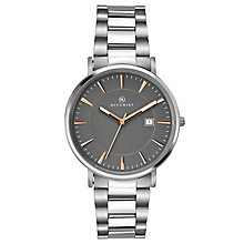 Accurist Men's Stainless Steel Grey Dial Bracelet Watch - Product number 6319750