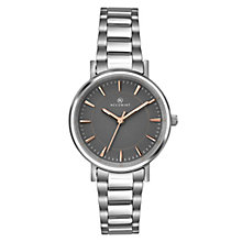 Accurist Ladies' Stainless Steel Grey Dial Bracelet Watch - Product number 6319769