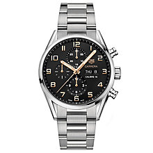 TAG Heuer Carrera Stainless Steel Bracelet Watch - Product number 6323065