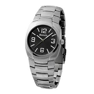 Men` Stainless Steel Bracelet Watch