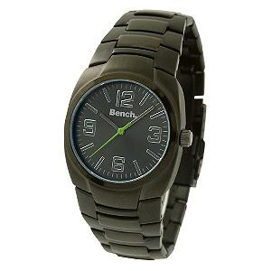 Men` Black Bracelet Watch