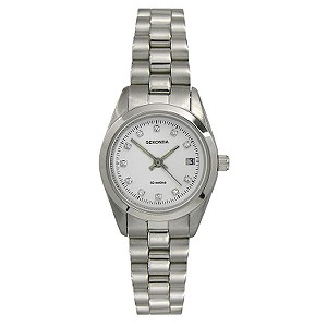 Sekonda Ladies' Stone Set Dial Watch - Product number 6331173