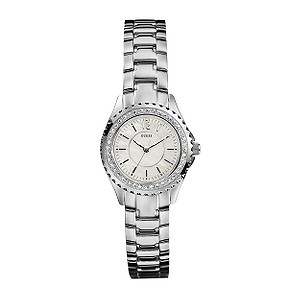 Guess Mini Rock Candy Ladies Stainless Steel Bracelet Watch