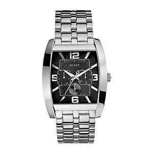 Guess Men's Power Broker Stainless Steel Bracelet Watch - Product number 6335241
