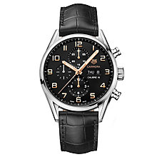 TAG Heuer Carrera Stainless Steel Strap Watch - Product number 6335403