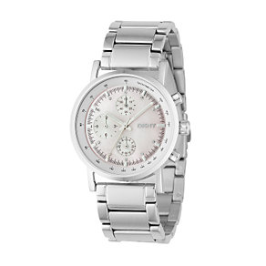 DKNY Ladies' Stainless Steel Bracelet Chronograph Watch - Product number 6338003