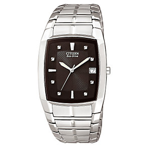 Citizen Eco-Drive Men's Stainless Steel Bracelet Watch - Product number 6339603