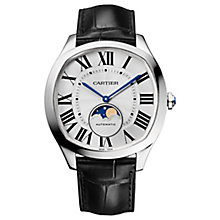 Cartier Drive De Cartier Men's Stainless Steel Strap Watch - Product number 6341152