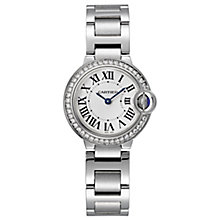 Cartier Ballon Bleu Ladies' Stainless Steel Bracelet Watch - Product number 6341942