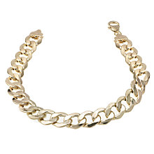 "9ct Gold 8.5"" Curb Bracelet - Product number 6342604"