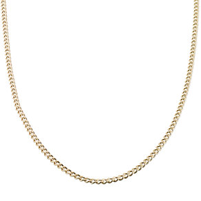 "9ct Gold 24"" Hollow Curb Chain - Product number 6343597"