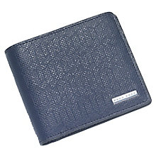 Hugo Boss Signature Men's Blue Leather Wallet - Product number 6344666