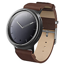 Misfit Gent's Phase Brown Leather Strap Smartwatch - Product number 6347002