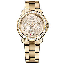 Juicy Couture Rose Gold Plated Staineless Steel Watch - Product number 6347037