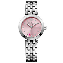 Juicy Couture Silver Stainless Steel Bracelet Watch - Product number 6347711