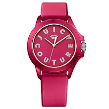 Juicy Couture Pink Silicone Strap Watch - Product number 6347762