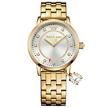 Juicy Couture Gold Plated Stainless Steel Bracelet Watch - Product number 6347789