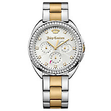 Juicy Couture Two Tone Stainless Steel Bracelet Watch - Product number 6347827