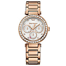 Juicy Couture Rose Gold Plated Staineless Steel Watch - Product number 6347916