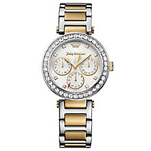 Juicy Couture Two Tone Stainless Steel Bracelet Watch - Product number 6347924
