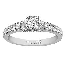 Leo Diamond 18ct White Gold 0.75ct Brilliant Diamond Ring - Product number 6349455