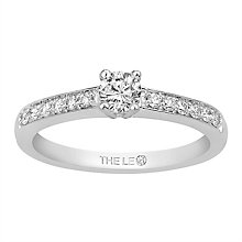 Leo Diamond 18ct White Gold 0.40ct Diamond Ring - Product number 6350275
